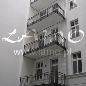 Steel balcony Lamo 8