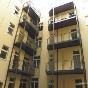 Steel balcony Lamo 9
