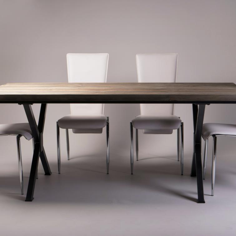 Steel table legs X Lamo