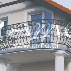 Balkon balustrady Lamo
