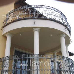 Balkonowe balustrady Lamo
