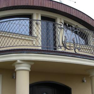 Balustrada balkonowa aluminium Lamo