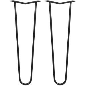 Table legs LT-12A colour RAL 9005 Lamo