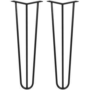 Table legs LT-13A colour RAL 9005 Lamo